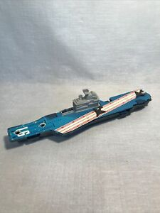 Tootsietoy Aircraft Carrier Military Navy Ship Boat Vintage Missing Planes USA