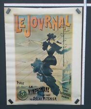 "Vintage Le Jovrnal La Nymphomane Movie Play Poster by GS Posters - Paris 36""x28"""