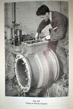 ASBESTOS Handbook From Rock to Fabric - Gaskets Brake Lining Marine & More! 1956