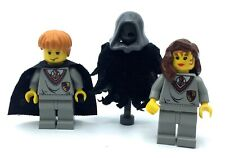 LEGO LOT OF 3 HARRY POTTER MINIFIGURES HERMOINE GHOST RON WEASLY FIGURES