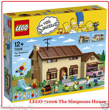LEGO 71006 THE SIMPSONS HOUSE New Sealed Set