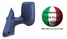 SPECCHIO SPECCHIETTO RETROVISORE SX MANUALE B/CORTO NERO FORD TRANSIT 06>13 2006
