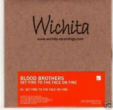 (H402) Blood Brothers, Set Fire to the Face on - DJ CD