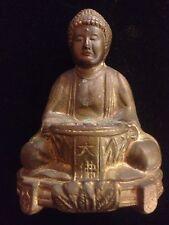 Antique/Vintage Bronze Buddha Incense Koro Or Censor!