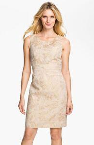 Donna Ricco Brocade Sheath Dress (size 10)