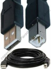 15ft long USB2.0 A~B AB Printer Cable/Cord/Wire for HP/Canon/Epson/PC/Mac{BLACK