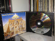"IRON MAIDEN "" POWERSLAVE "" RARE CD 1° Press Made West Germany 1984"