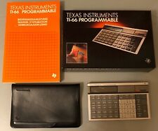 Texas Instruments TI-66 Neuwertig/Near Mint  OVP/Boxed Sammlerstück!