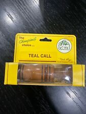 Big River teal duck call Nib Mick Lacy champion duck caller vintage hunting