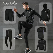 Men's Tracksuit Gym Fitness Sports Clothes Running Jogging Wear Exercise Workout