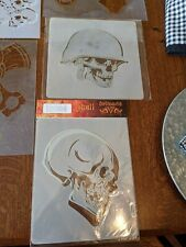 Large Lot Of airbrush Stencils