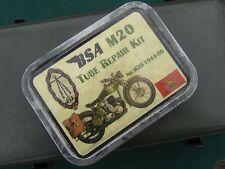 VINTAGE BSA M20 MOTORCYCLE BRITISH ARMY KIT AND VINTAGE BSA TOOL SPANNER