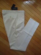 +++NWT $350 POLO RALPH LAUREN MADE IN ITALY 100% WOOL PANTS SZ 30+++