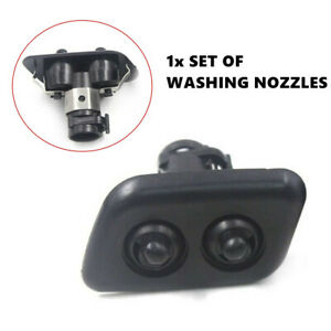 2X Original Washer Nozzle Spray Xenon Headlights Cleaning Fit For BMW 3/5er