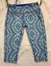PrAna Women's Athletic Pants Size XS Maison Knicker Blue Gardenia NWT Yoga