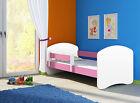 Kinderbett Fantasia in Weiss, Babybett,Jugendbett 140x70 und 160x80 in 6 Farben günstig