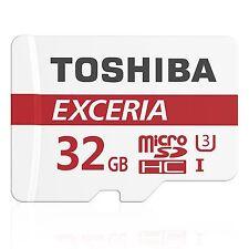 Toshiba Micro SDHC 32GB Exceria Class 10 UHS-I U3 90MB/s Flash Memory Card ct