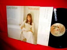 CARLY SIMON Hotcakes LP ITALY 1974 EX+ TOP WAX! G/f cover + Inner James Taylor