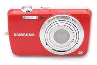 Samsung PL20 14.2 MP 3'' SCREEN 7x ZOOM Digital Camera - RED