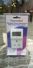 TIMEGUARD TRT05 ELECTRONIC PLUG IN THERMOSTAT WITH 24 HOUR TIME CONTROL