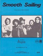 The Dingoes-Smooth Sailing-1977 Sheet Music-Original Australian issue-Rare!