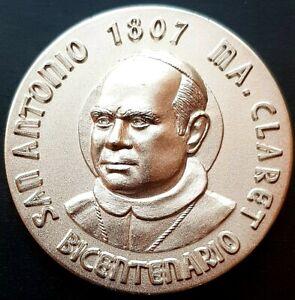 1884 - 2009 MISIONEROS CLARETIANOS  MEXICO Medal 125 años 97g. VERY NICE!!