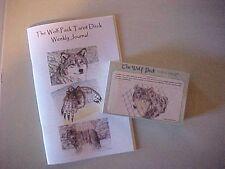 Wolf Pack Tarot Cards Color 1st Print - Tarot Journal 52 Week Log Booklet SET 2
