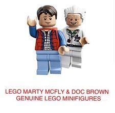 LEGO Ritorno al Futuro Marty & DOC Minifigures da vari gruppi Nuovo di zecca.