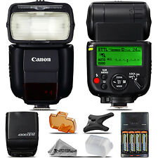Canon 430EX III-RT Speedlite Flash for EOS 6D 5D 80D Rebel T5 T5i T6 T6 Camera