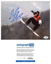 Mark McMorris Signed Slopesyle Snowboarding Olympics 8x10 Photo EXACT Proof ACOA