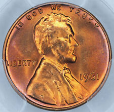 1961 PCGS MS65RD Lincoln Cent