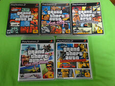 EMPTY CASES!  Grand Theft Auto Trilogy PlayStation 2 PS2 GTA 3 Vice City San