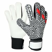 Swift Wears Goalkeeper Flat Cut Finger Saver Goalie Gloves Football Size 8/9/10