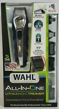 Wahl Men's 17pc Home Hair/Beard Clippers Trimmer All In One Lithium Ion NEW