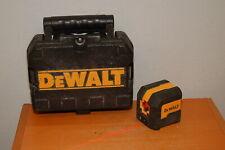 DeWalt DW08801 50 ft. Cross Line Laser Level. Red Laser w/ Case