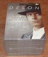 Coffret Alain Delon - 7 Polars Mythiques 7 DVD neuf sous blister VF