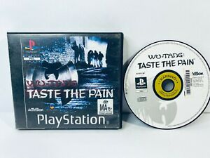 Wu-Tang Taste The Pain Sony PS1 AUS PAL Complete *Free Post - GC*