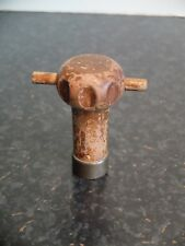 1939 wooden valve key with brass end