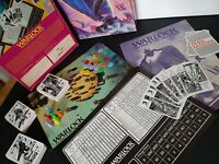 Warlock Board Game - Games Workshop Edition Rare Vntage Card Battle Game 1980