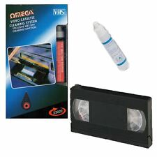 VIDEOREGISTRATORE VIDEO CLEANER VHS cassetta registratore Nastro HEAD CLEANER sistema & fluido WET / DRY