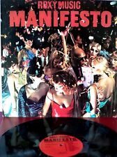 Roxy Music - Manifesto - LP 1979 SPAIN  EXC /MINT