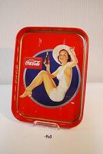 C140 Ancein plateau Coca Cola - Pin up - vintage