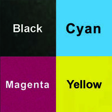 4x 1L CMYK Dye Ink for Epson Wide Format Printer or Desktop Printer T50 1410