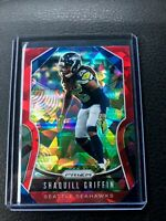 Shaquill Griffin 2019 Panini Prizm Red Cracked Ice Prizm Refractor SP