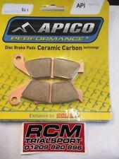 Pastillas de freno delantero de carbono Cerámica Beta 400 450 RR ENDURO 4 tiempos 05-14 tipo 041