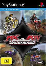 MX vs. ATV Unleashed PlayStation 2 Game USED