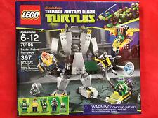 LEGO Teenage Mutant Ninja Turtles TMNT BAXTER ROBOT RAMPAGE 79105 NEW SEALED