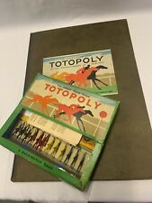 Totopoly - Waddingtons - Vintage 1930's-Horse Racing Game-Double Board-Complete
