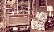 """postcard 1948 Tailored """"GARDNER"""" Radiator Enclosures FRANK J CASEY, WAUWATOSA WI"""