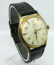 montre ancienne, Vintage pour homme LEM  mécanique Antichoc 15 Jewels Old Watch.